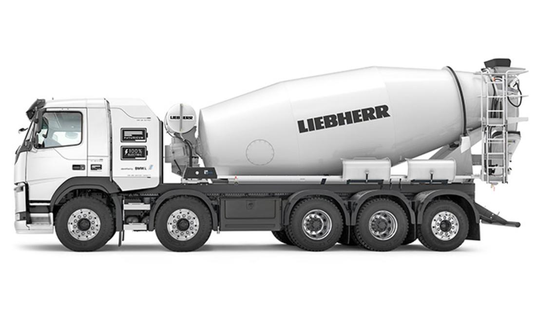 Liebherr ETM 1005, Liebher ETM 1205, Camiones eléctricos, Carros de construcción, Camiones mezcladores de cemento eléctricos, camiones eléctricos con mezclador de cemento, Mezcladores de cemento eléctricos, mezcladores eléctricos de cemento, camiones eléctricos con mezclador de cemento Liebherr, camiones eléctricos con mezclador de cemento fotos, camiones eléctricos con mezclador de cemento características