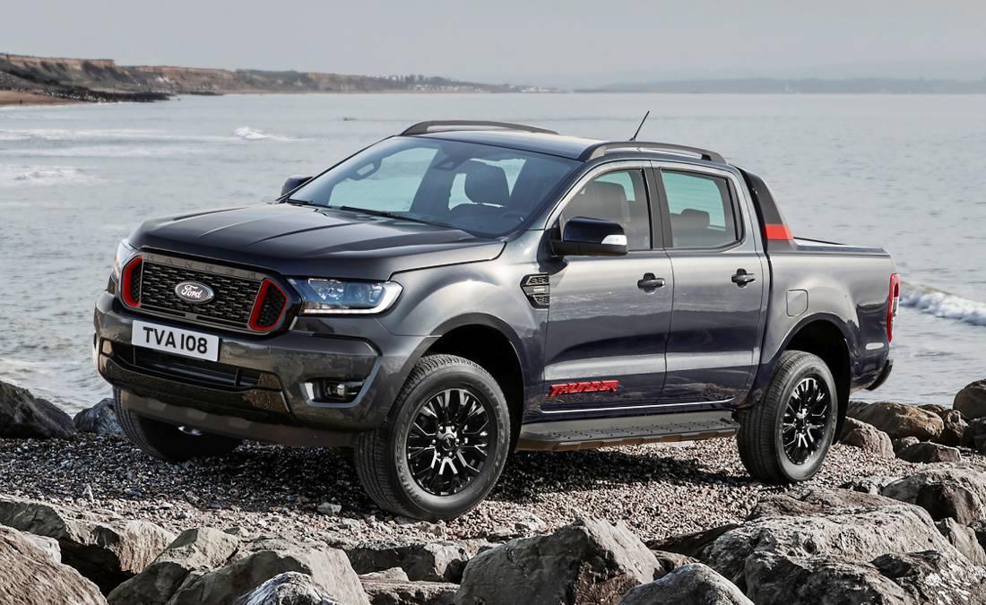 Ford Ranger Thunder 2021 Edicion Especial Para Europa Con Alma De Raptor
