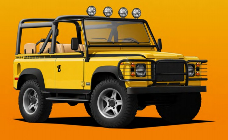 Land Rover Defender, Land Rover Defender Modificados, Land Rover Defender NAS-E, Land Rover Defender Twisted Automotive, Land Rover Defender electrico, Land Rover Defender Estados Unidos, Land Rover Defender Reino Unido, Land Rover Defender electrico fotos, Land Rover Defender caracteristicas, Land Rover Defender precio