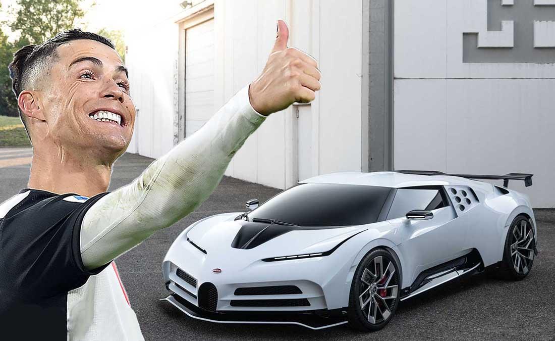 Bugatti Cristiano Ronaldo