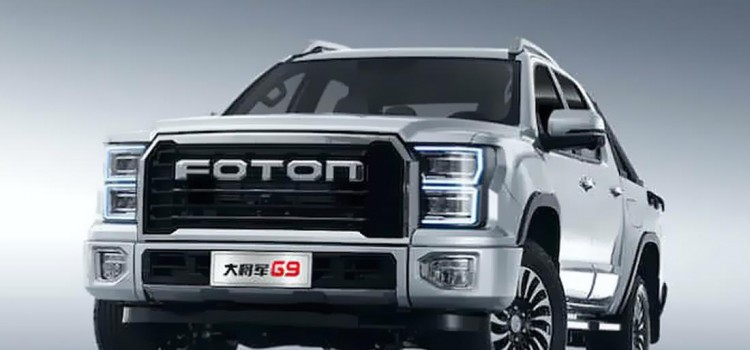 ford f-150 raptor copia china, ford raptor clon chino, foton copia china ford raptor, Foton Da Jiang Jun G9 pick-up, Foton Da Jiang Jun G9 2021