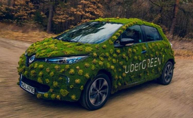 uber, uber renault-nissan, uber flota electrica, uber movilidad sostenible, uber 2040 autos electricos, uber planes, uber Green
