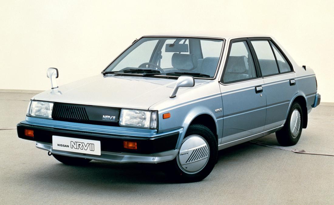 nissan nrv-ii, carros futuristas, concept cars futuristas, carros futuristas de los años 80, concept cars de los años 80, carros de los años 80, nissan nrv-ii 1983, carros de alta tecnologia, concept cars clasicos, concept cars antiguos, industria automotriz futurista