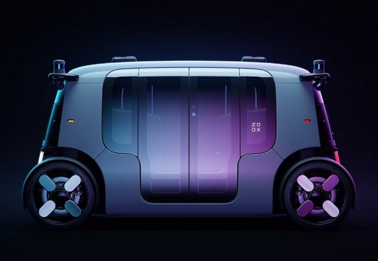 Nuevo Zoox, Zoox fotos, zoox características, taxi zoox, zoox autónomo, carros de amazon, zoox amazon, amazon carro autónomo, amazon taxi, amazon carro eléctrico