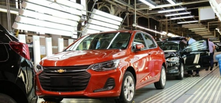 general motors, general motors produccion brasil, general motors suspension produccion brasil, general motors brasil, general motors chevrolet onix, general motors produccion onix, general motors 2021, general motors colombia, general motors argentina, general motors peru, general motors chile