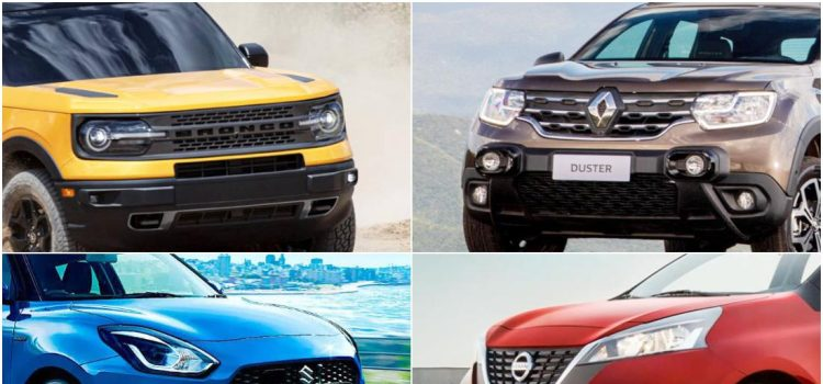 nuevos carros 2021 en colombia, nuevos carros 2022 en colombia, lanzamientos de carros en colombia, renault duster turbo colombia, renault duster 2022 colombia, nissan march 2021 colombia, nissan march 2022 colombia, ford bronco sport colombia, volkswagen t-cross tsi turbo colombia, opel crossland colombia, opel grandland x colombia, suzuki swift hibrido colombia, suzuki swift mild hybrid 12v colombia