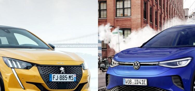 autos mas vendidos en europa 2021, coches mas vendidos en europa 2021, vehiculos mas vendidos en europa 2021, autos electricos mas vendidos en europa 2021, coches electricos mas vendidos en europa 2021, ventas de autos en europa, ventas de vehiculos nuevos en europa 2021, auto electrico mas vendido en europa 2021, auto mas vendido de europa 2021, peugeot 208, volkswagen id.4, volkswagen id.3, renault zoe