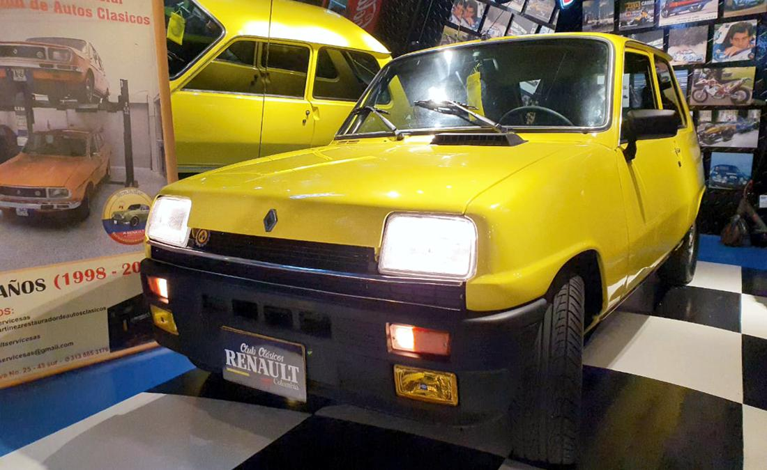 renault 5, renault 5 colombia, renault 5 gtl, renault 5 gtl 1981, renault 5 1981, renault 5 restaurado, renault 5 historia en colombia, renault 5 1108, renault 5 gtl 1108, renault 5 caracteristicas, renault 5 tres puertas, renault 5 coupe, club clasicos renault colombia