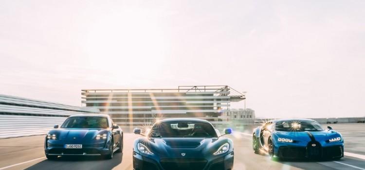 Bugatti Rimac, Porsche, Bugatti, Rimac, Fusión, Alianza, Rimac Nevera, Bugatti Chiron, Hiperdeportivos, Carros deportivos, Carros de lujo, Carros eléctricos