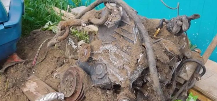 Motor Toyota Enterrado