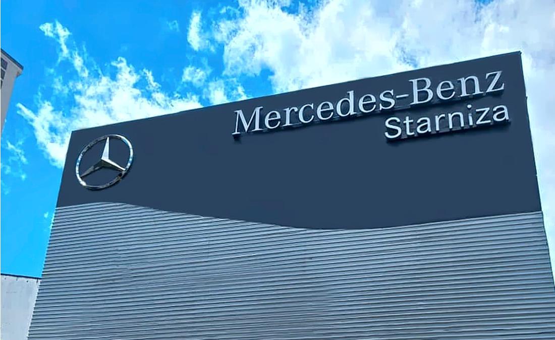 Taller Mercedes-Benz Starniza, Bucaramanga.