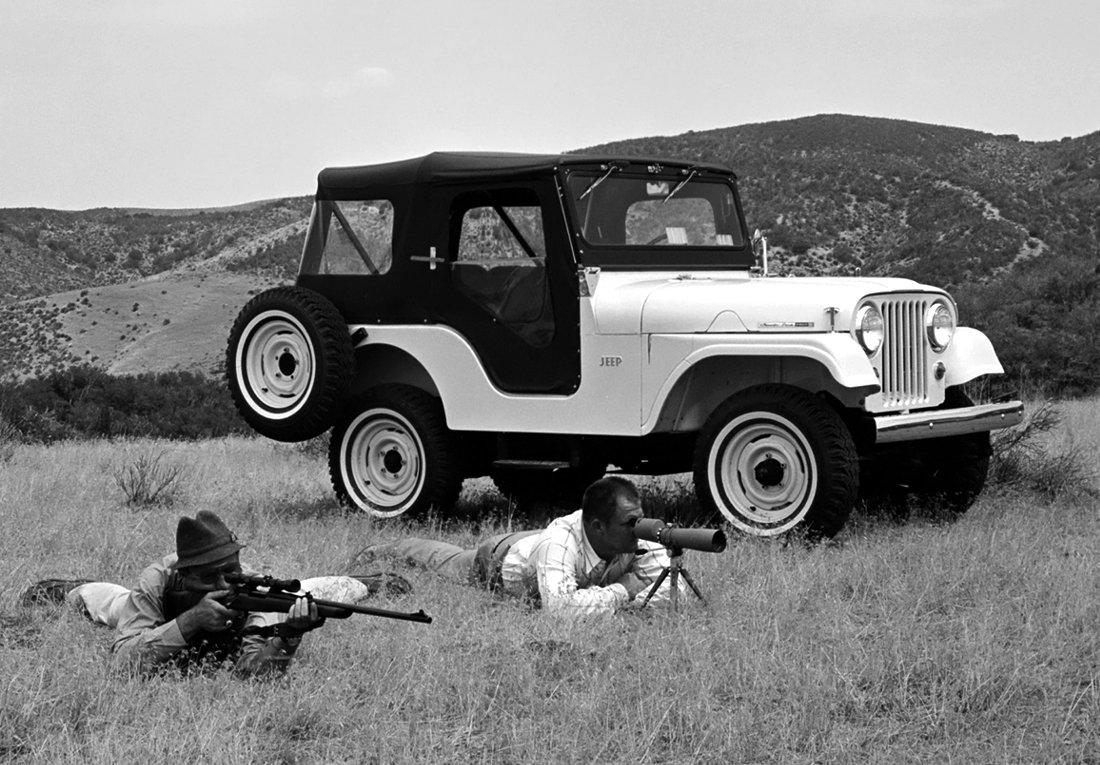 Jeep CJ-5, primer carro ensamblado en Colombia (1961)