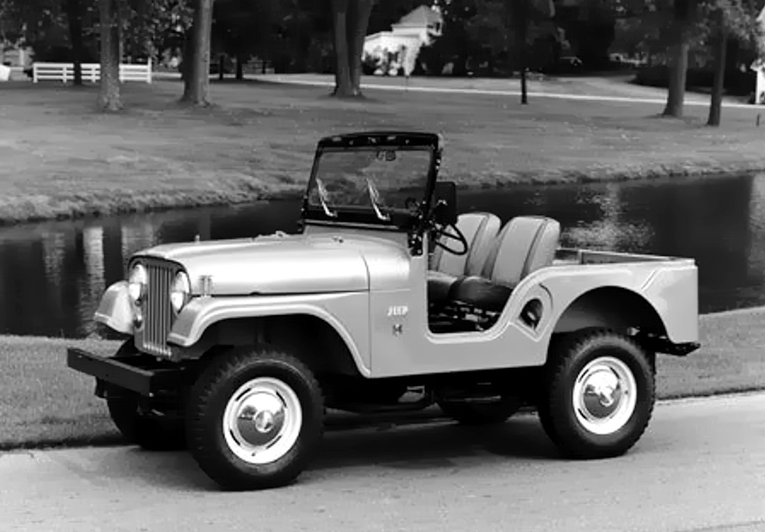 Jeep CJ5, primer carro ensamblado en Colombia (1961)