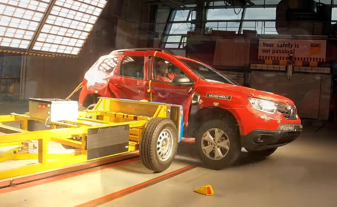 Renault Duster Turbo 2022 Latin NCAP