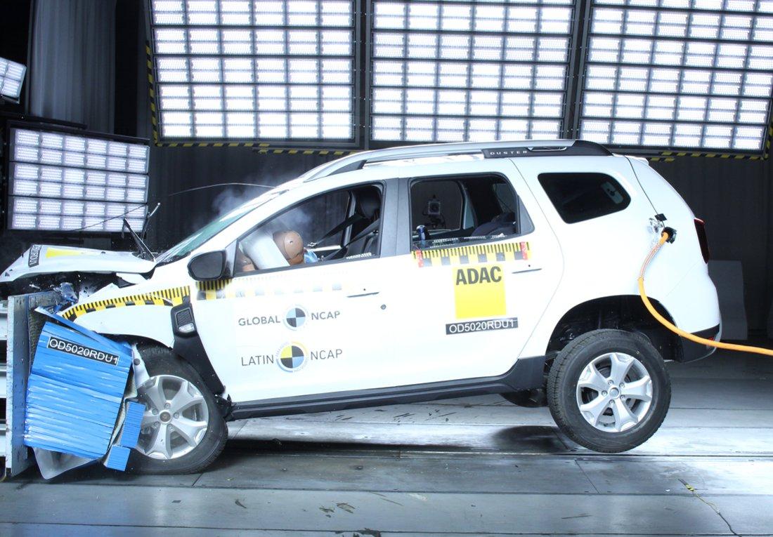 Renault Duster 2022 Latin NCAP