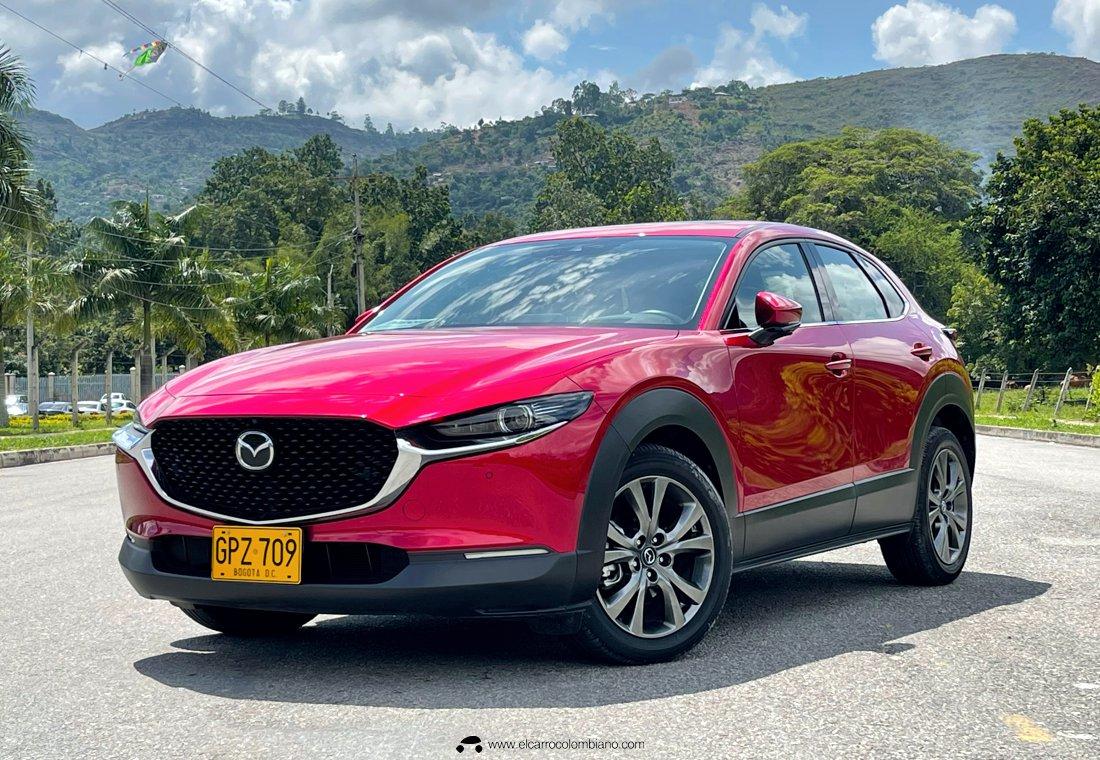 Mazda CX-30 Grand Touring LX AWD rojo diamante 2021