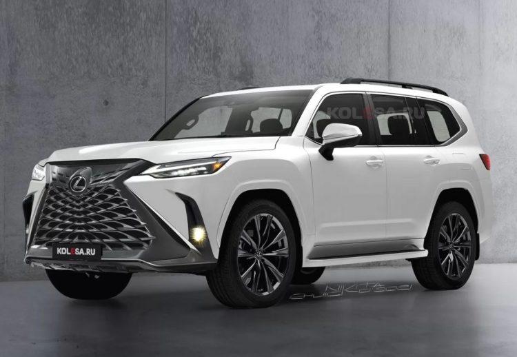 Lexus LX 2022 render