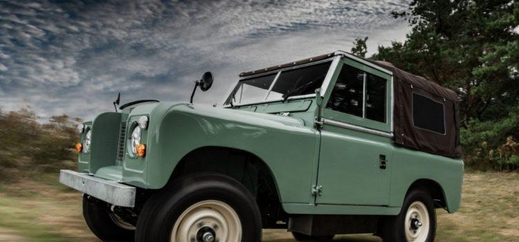 Land Rover Serie IIA clásico
