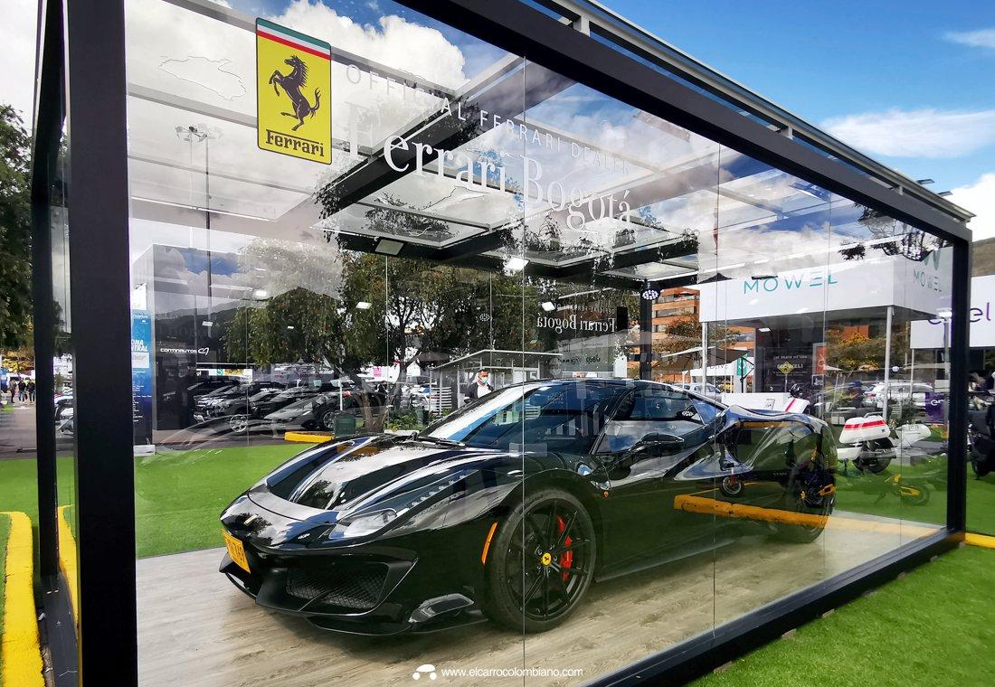 Ferrari Colombia Motorfair Unicentro 2021