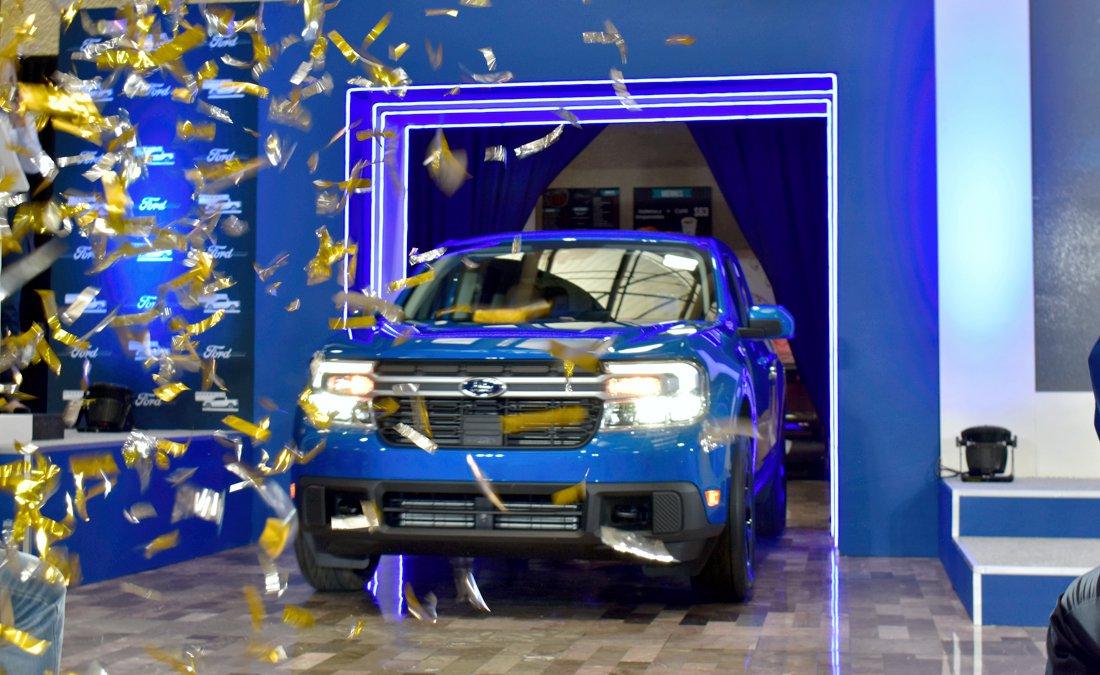 Ford Maverick inicio de producción en Hermosillo, México.