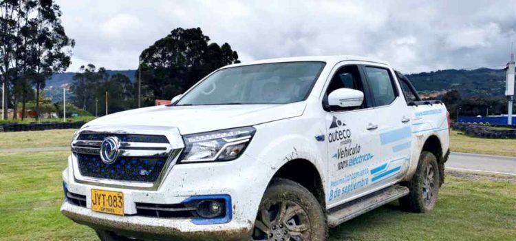 Dongfeng Rich 6 EV, camioneta pick-up eléctrica en Colombia