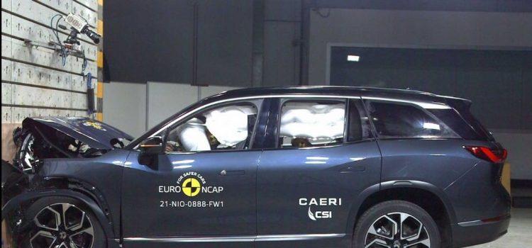 NIO ES8-euroNCAP