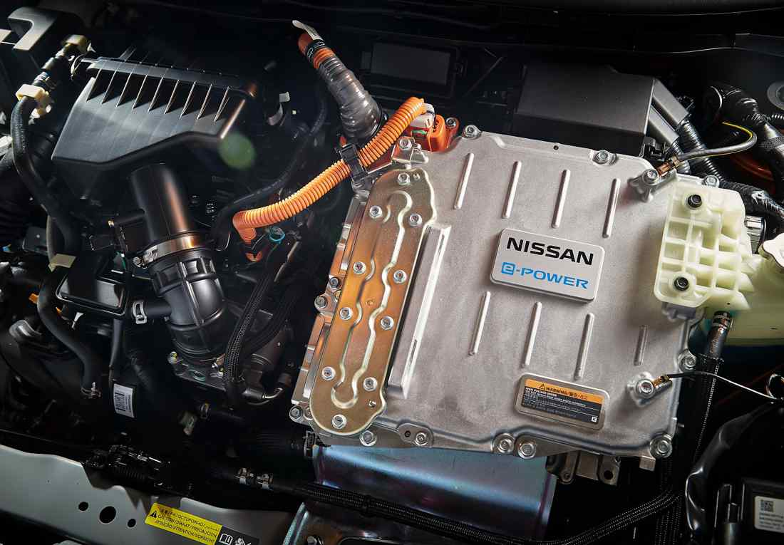 Nissan tecnología e-Power