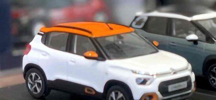 Citroën C3 C21 Crossover India y América Latina