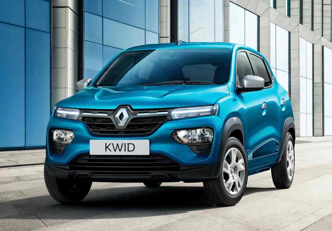 Renault Kwid 2023, versión india