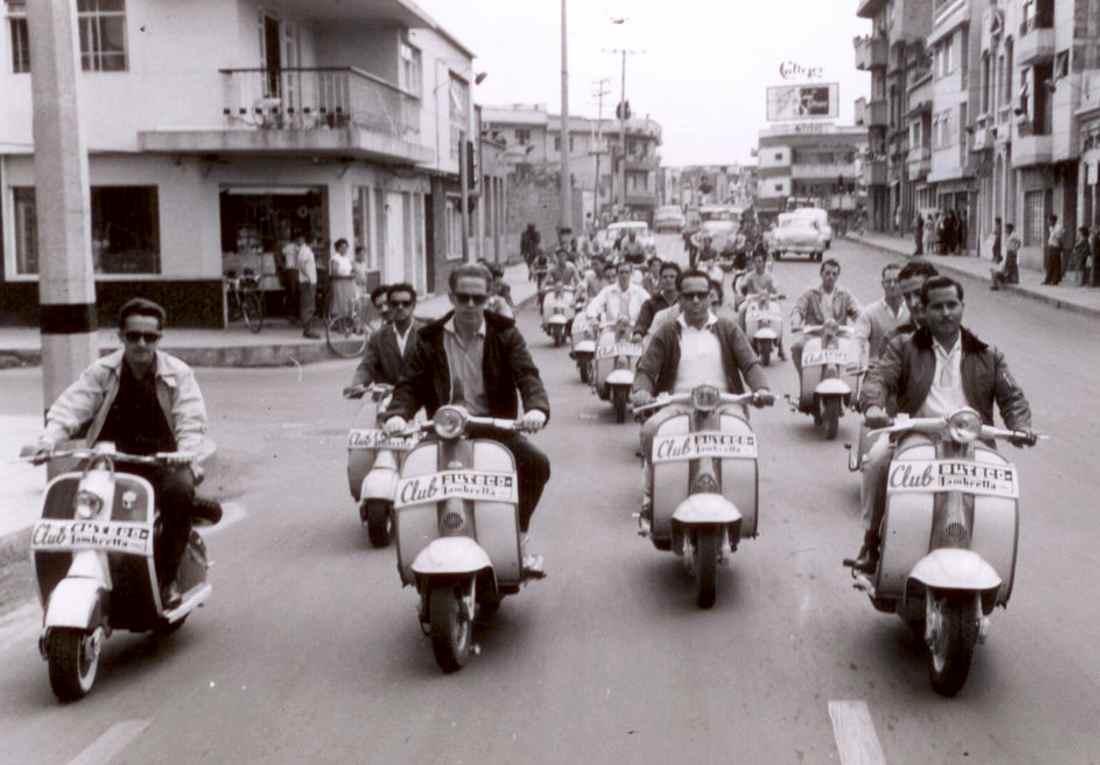 Auteco 80 años motos Lambretta 1961