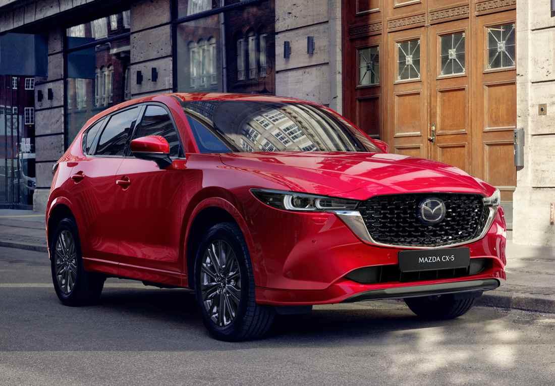 Mazda CX-5 2023 Red Diamond