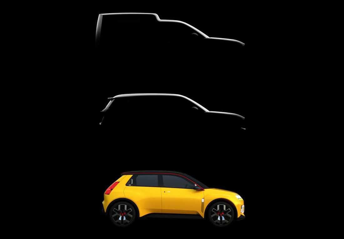 Renault 5, Renault 4 y Renault 4 Furgoneta eléctricos