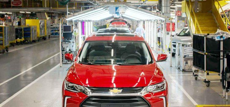 Chevrolet Tracker producción en GM Brasil