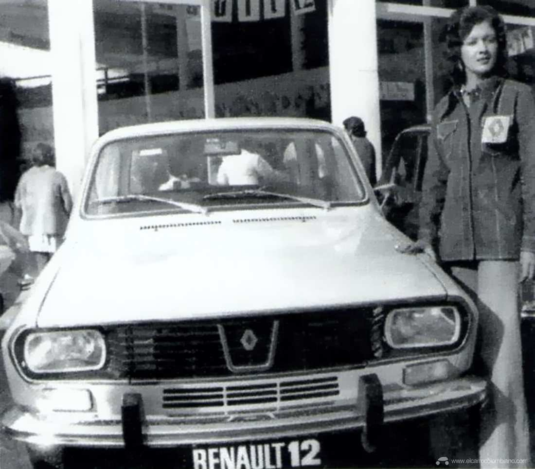 Renault 12 lanzamiento en Colombia, 1973.