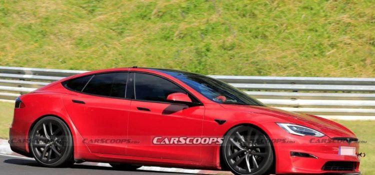 Tesla Model S Plaid en Nürburgring