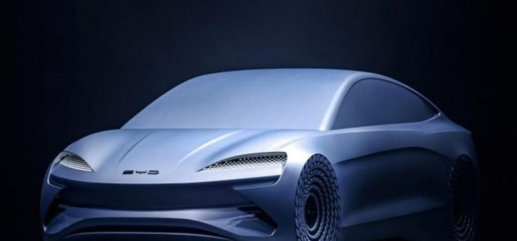 byd ocean x concept sedan electrico