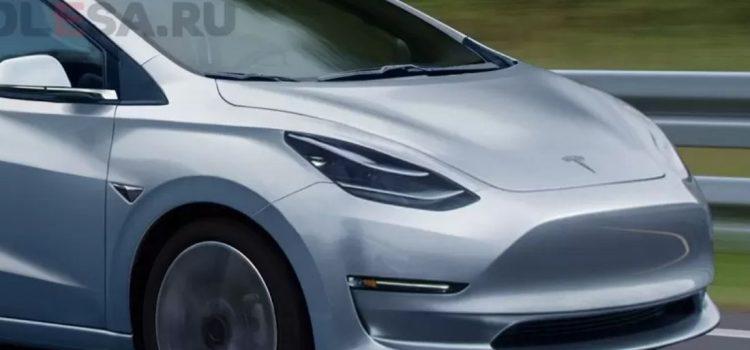 tesla hatchback electrico renders