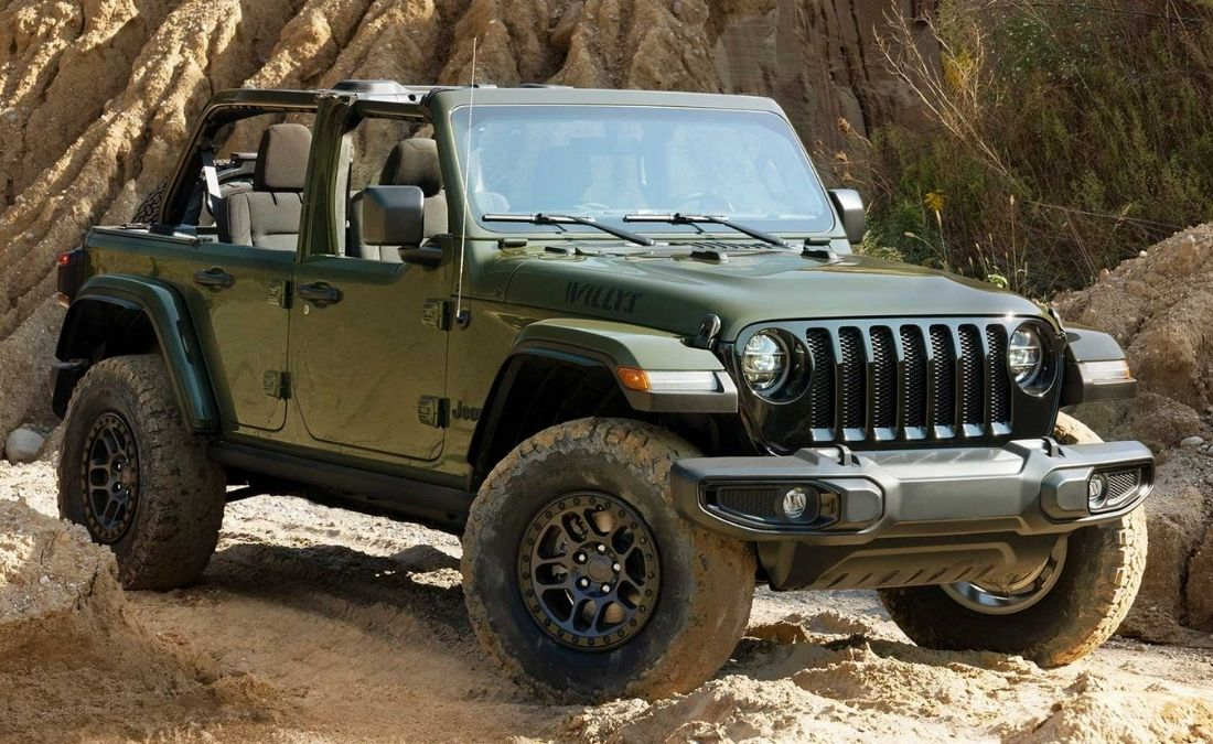 jeep wrangler willys 2022 edicion especial