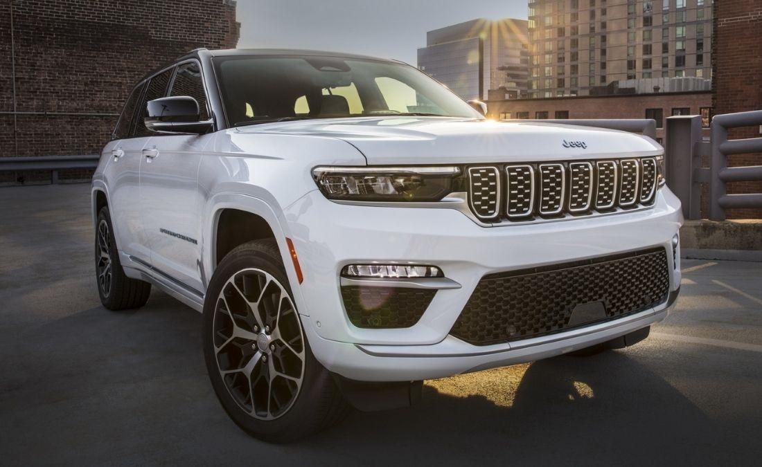 Jeep Grand Cherokee 2022 híbrido enchufable
