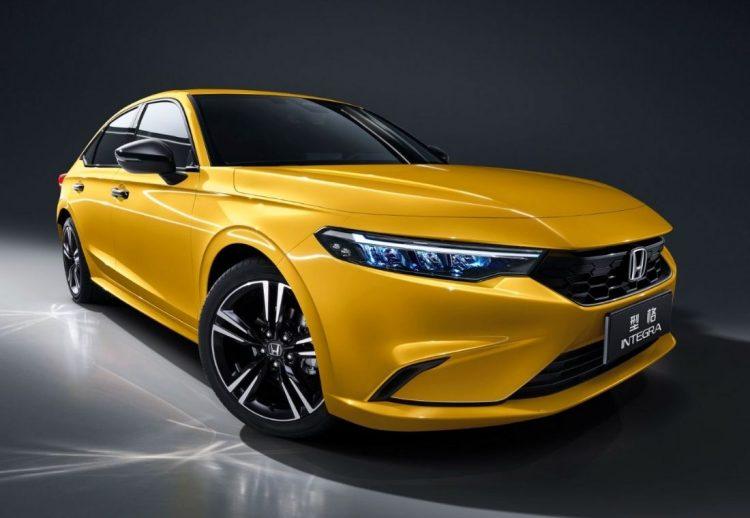 Honda Integra 2022 China