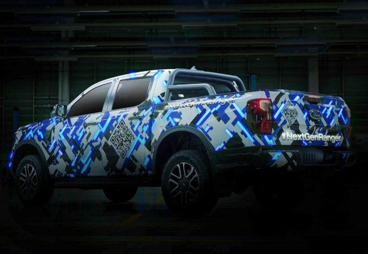 Ford Ranger 2022 teaser