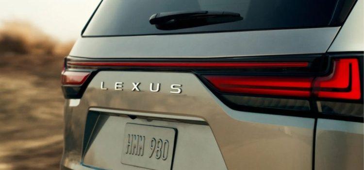 Lexus LX 2022 teaser