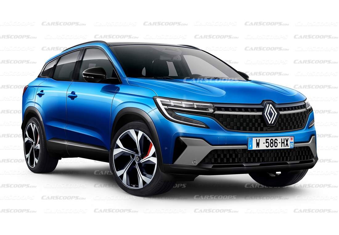 Renault Kadjar 2022 render