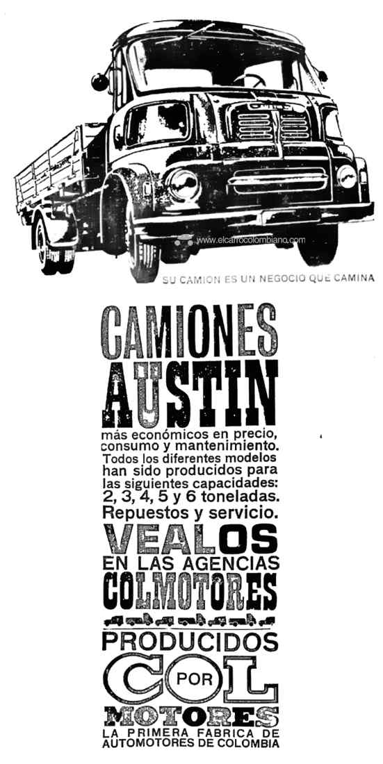 Austin T200 Colombia Colmotores