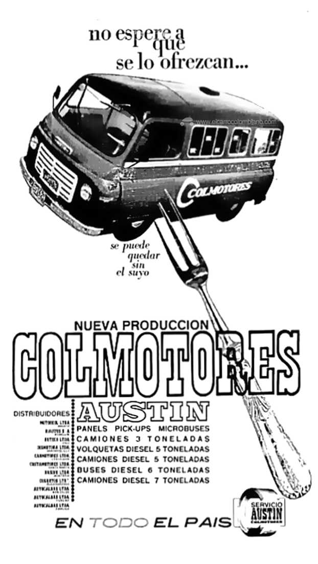 Austin J2 Colombia Colmotores