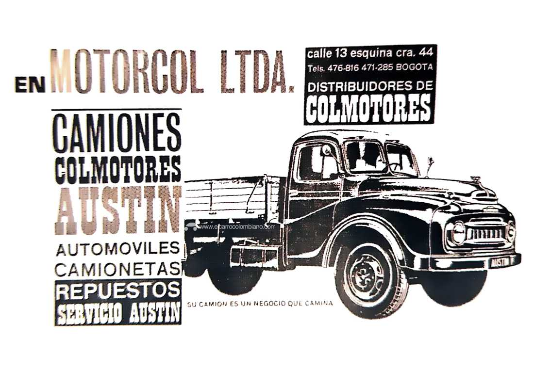 Austin A502 Colombia Colmotores