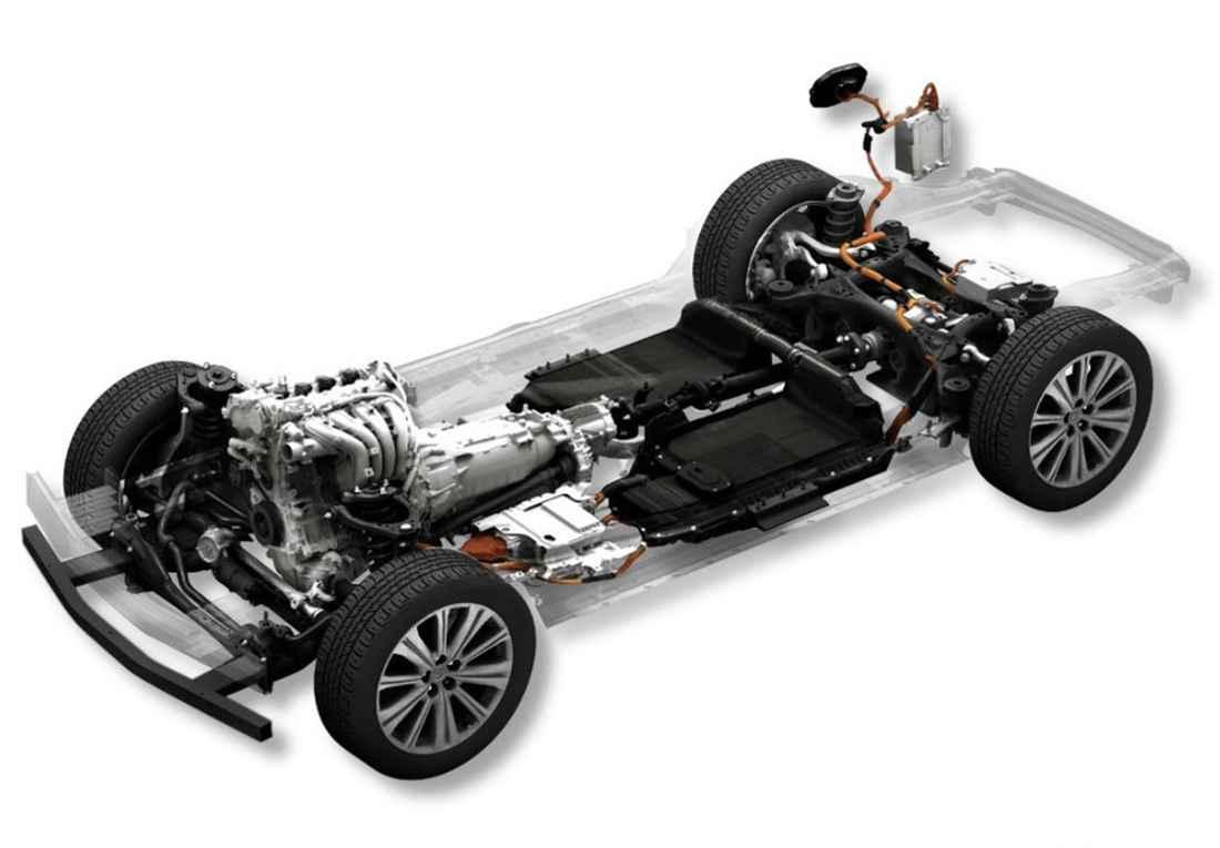 Mazda FR Architecture.
