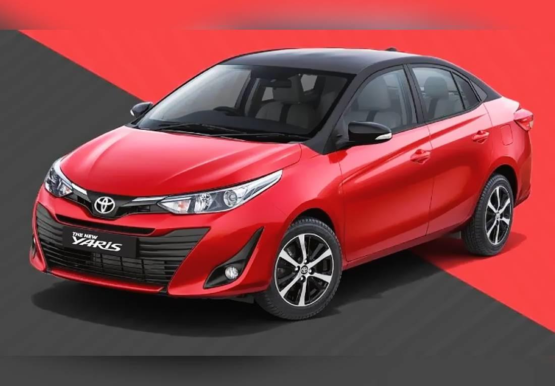 Toyota Yaris Sedán India