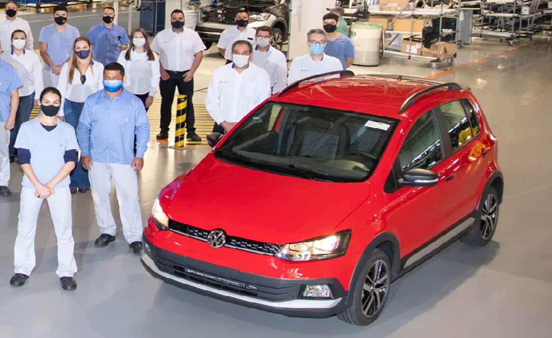 Último Volkswagen Fox