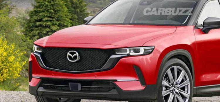 Mazda CX-50 render Carbuzz